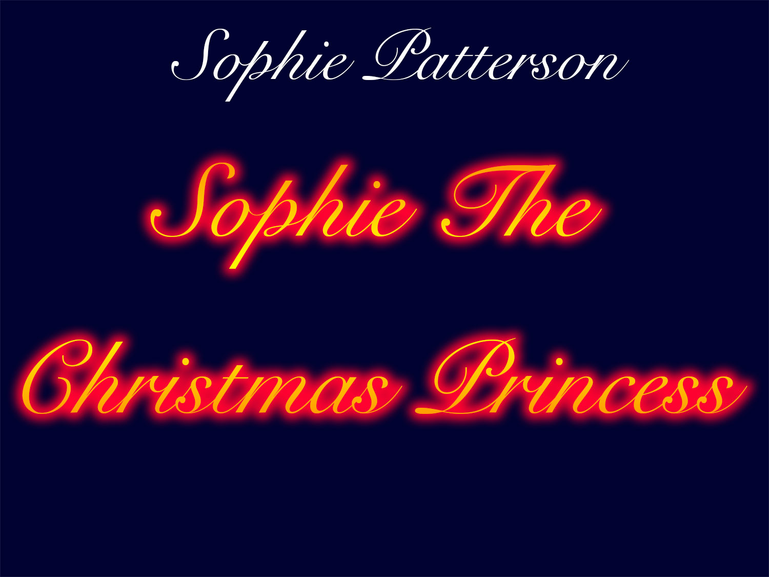 Sophie the Christmas Princess